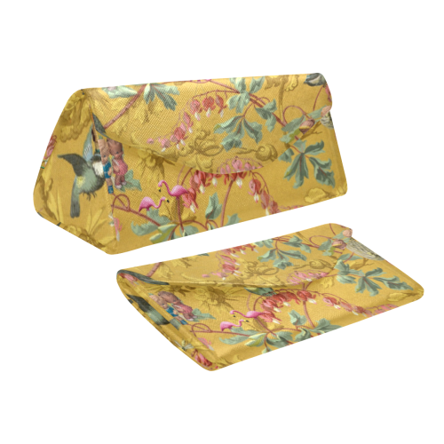 Hooping in the Spring Garden Custom Foldable Glasses Case