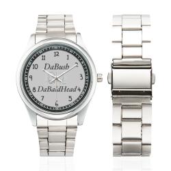 DaBush&DaBaldHead Men's Stainless Steel Watch(Model 104)