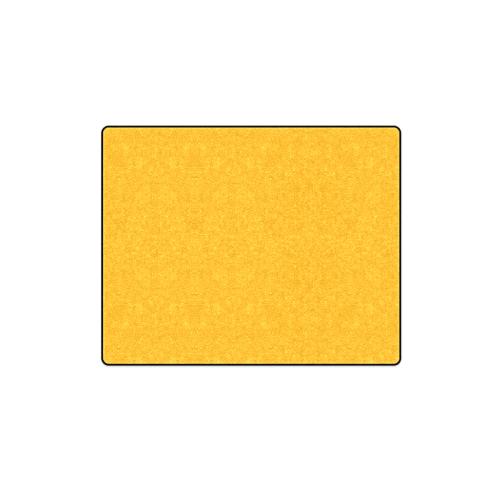 "Neon Tangerine Orange Blanket 40""x50"""