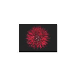 """Backyard Flowers 45 Color Version Canvas Print 7""""x5"""""""