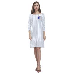 No. 1 Vegan Rhea Loose Round Neck Dress(Model D22)