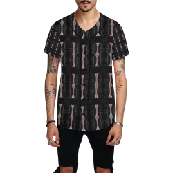 32_5000 147 All Over Print Baseball Jersey for Men (Model T50)