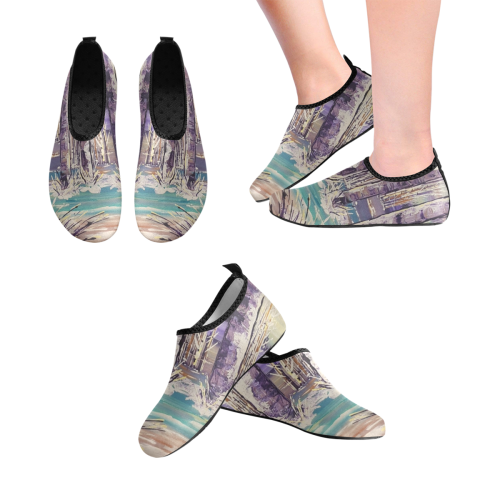 The Wading - Women's Slip-On Water Shoes (Model 056)