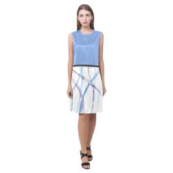 Lines Eos Women's Sleeveless Dress (Model D01)