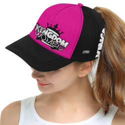 Neon Pink All Over Print Snapback Hat D
