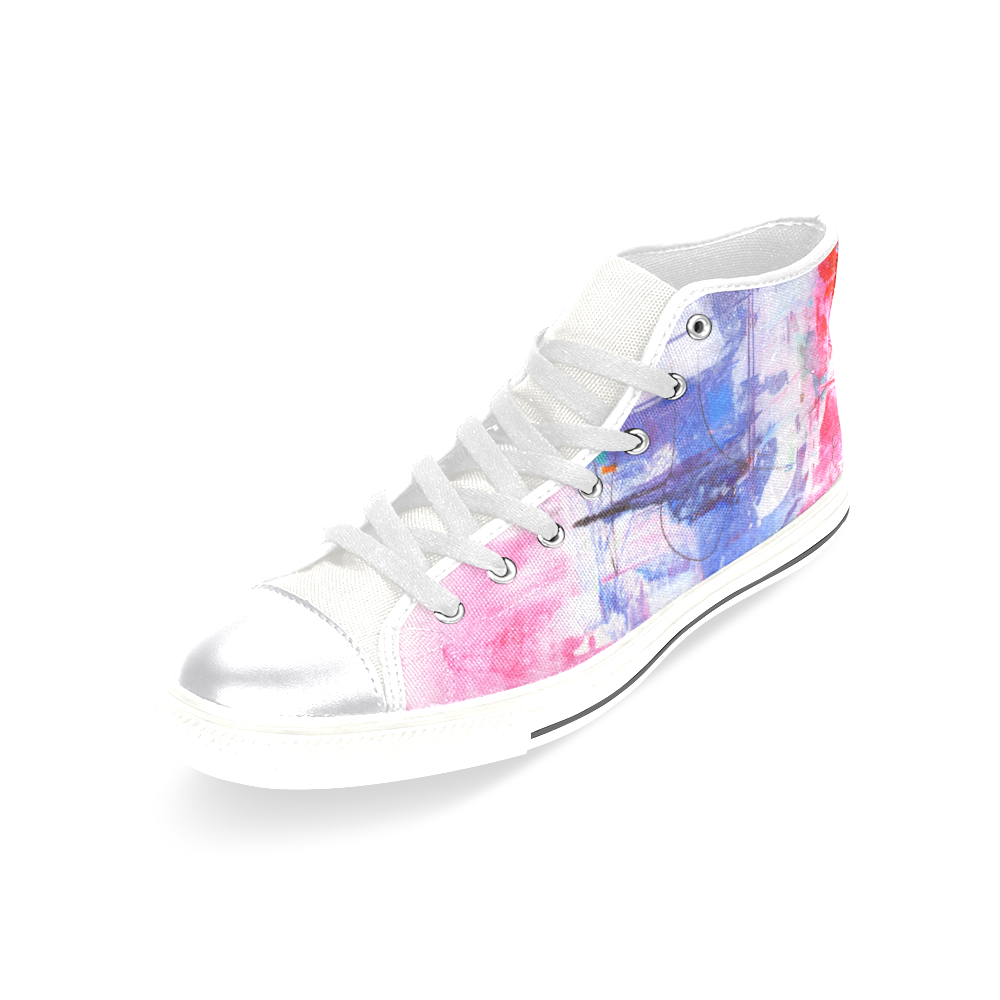 Confusion Women's Classic High Top Canvas Shoes (Model 017)