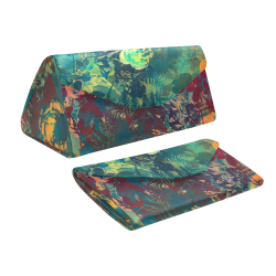 flowers #flowers #pattern Custom Foldable Glasses Case