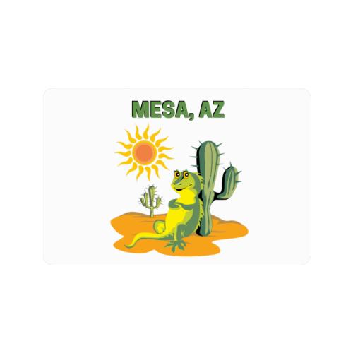 "Mesa, Arizona Doormat 24""x16"""