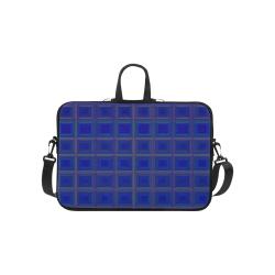 Royal blue golden multicolored multiple squares Macbook Pro 13''