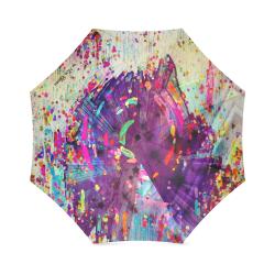 Paint Popart by Nico Bielow Foldable Umbrella (Model U01)