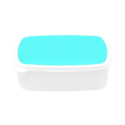 Baby blue polka dots Children's Lunch Box