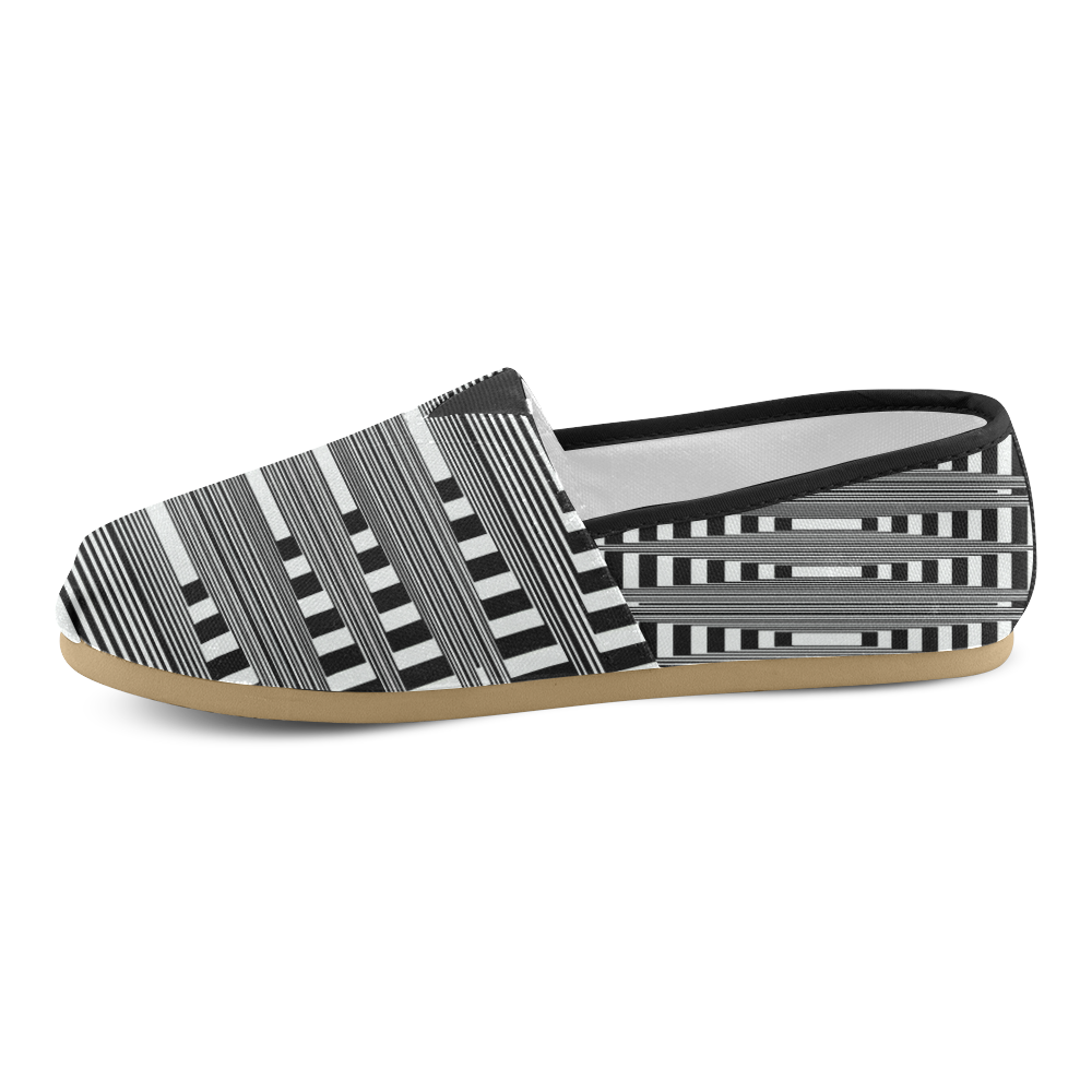 Can't make up my mind Unisex Casual Shoes (Model 004)