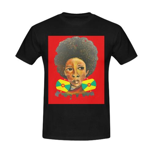 manusartgnd Men's Slim Fit T-shirt (Model T13)