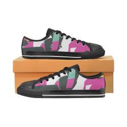grafiti 1 Men's Classic Canvas Shoes (Model 018)