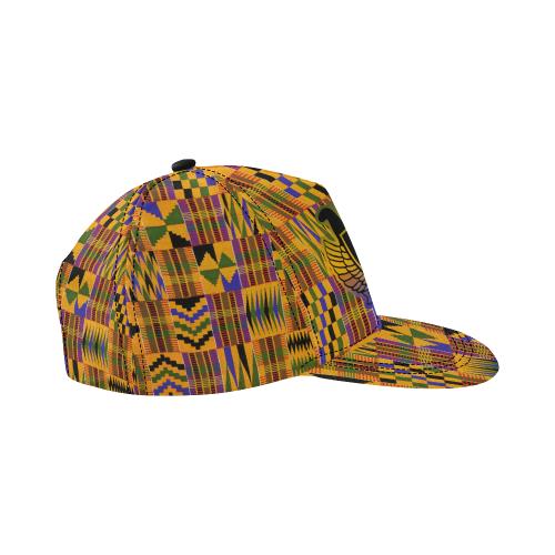 KENTE ATEF CROWN All Over Print Snapback Hat D