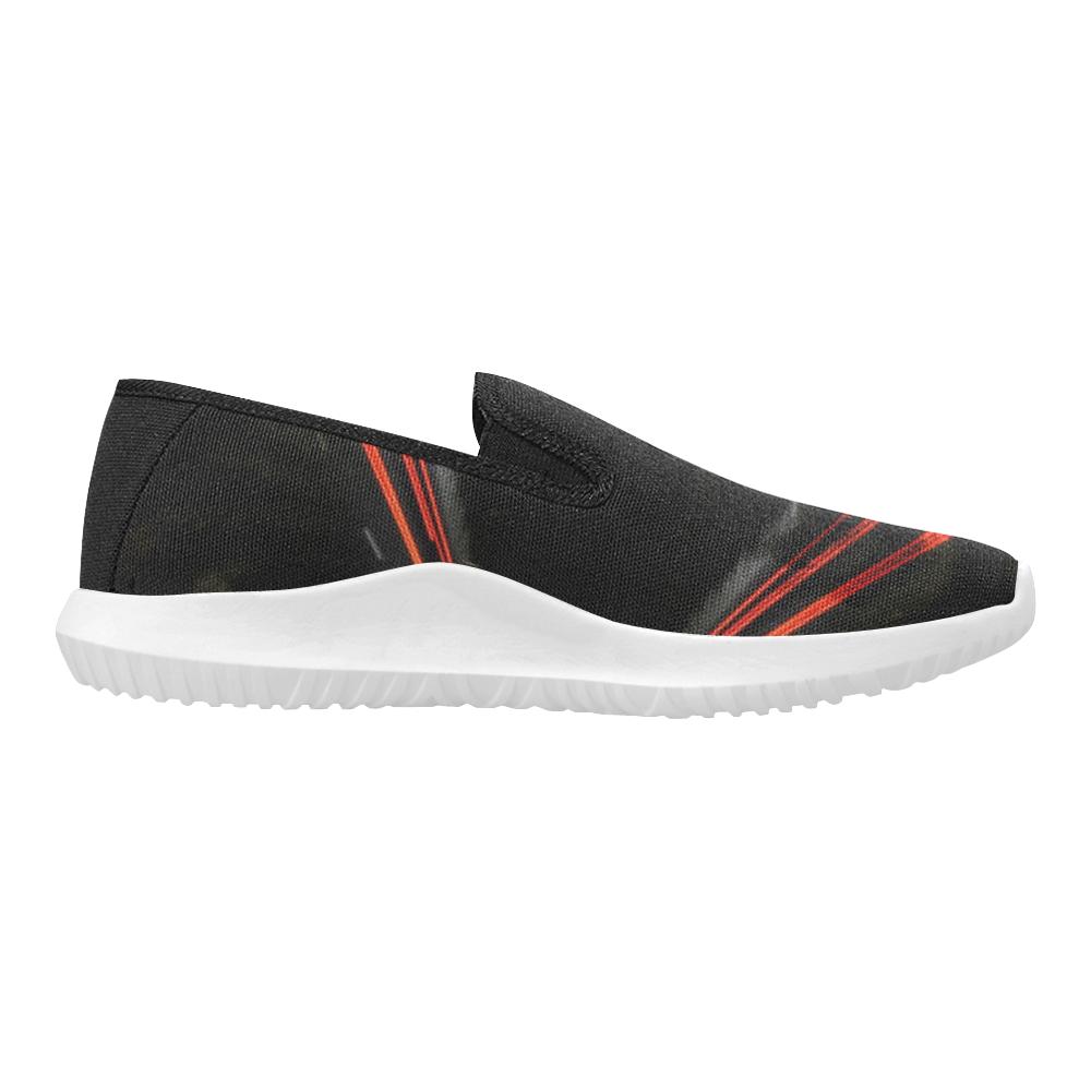 10000 art324 32 Orion Slip-on Men's Canvas Sneakers (Model 042)