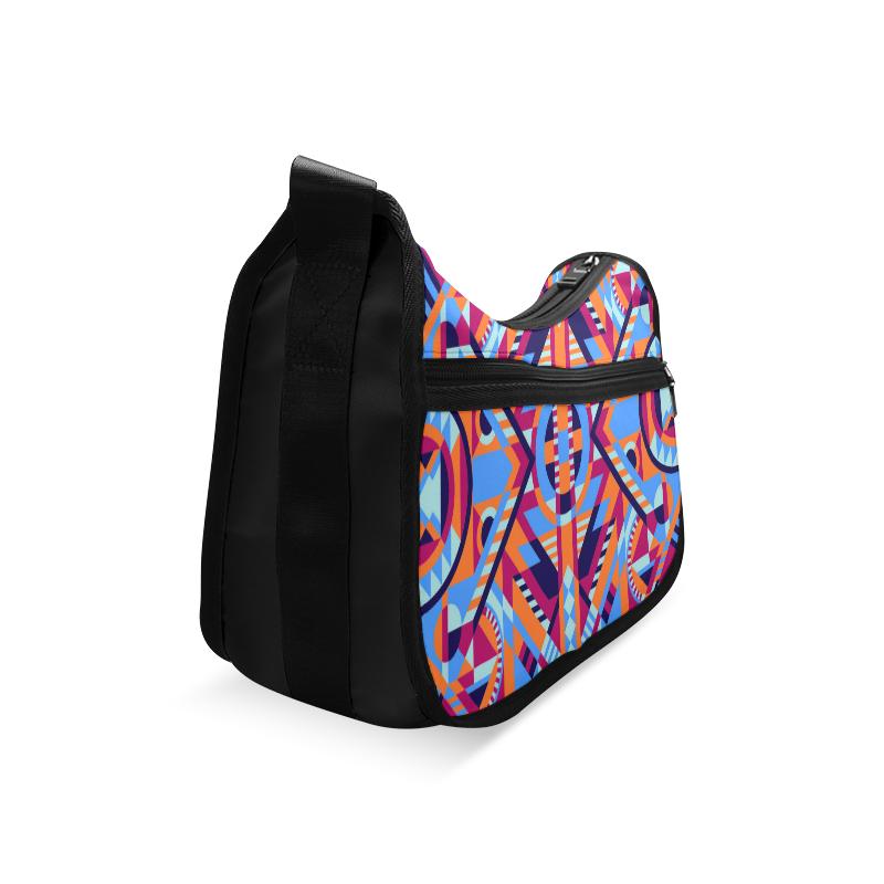 Modern Geometric Pattern Crossbody Bags (Model 1616)