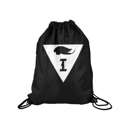 "Intanjibles Medium Drawstring Bag Model 1604 (Twin Sides) 13.8""(W) * 18.1""(H)"