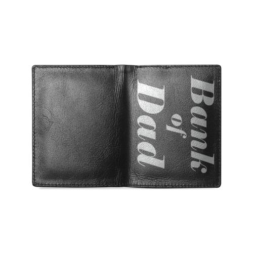 bank of Dad Men's Leather Wallet (Model 1612)