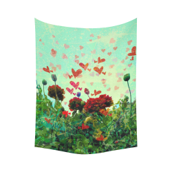 """Love Glade Cotton Linen Wall Tapestry 60""""x 80"""""""