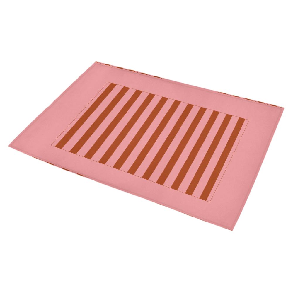 "Abstract pattern geometric backgrounds Azalea Doormat 30"" x 18"" (Sponge Material)"