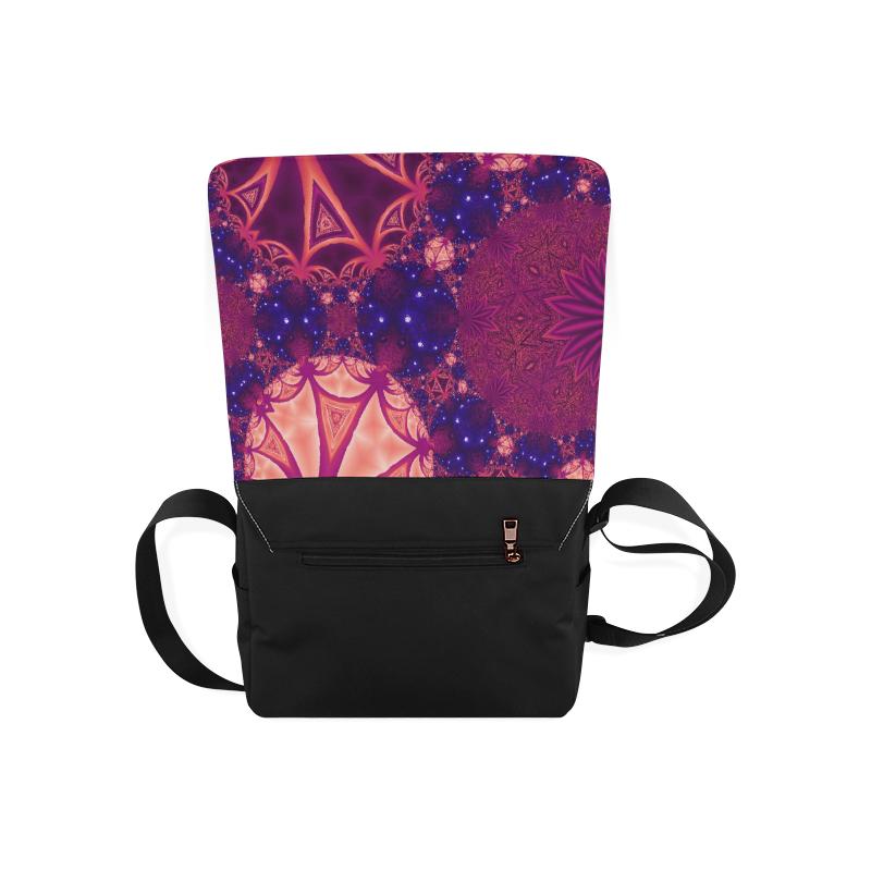 Moonlit Colourful Tropics Messenger Bag (Model 1628)