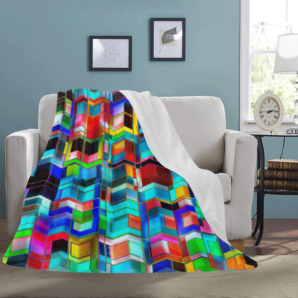 "TechTile #3 - Jera Nour Ultra-Soft Micro Fleece Blanket 60""x80"""