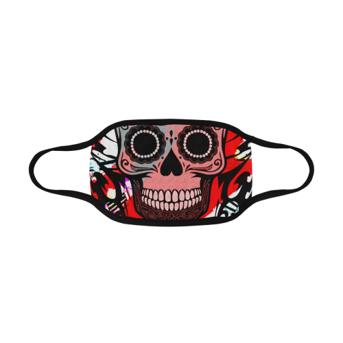 SKULL CULT RED MASK Mouth Mask