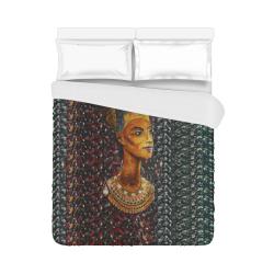 """Nefertiti Duvet Cover 86""""x70"""" ( All-over-print)"""