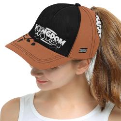 Brown/Black All Over Print Snapback Hat D