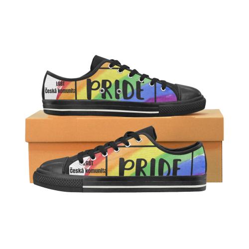 Czech Pride shoes Women's Classic Canvas Shoes (Model 018)