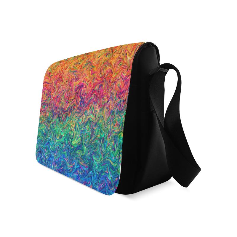 Fluid Colors G249 Messenger Bag (Model 1628)