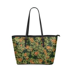 Kinmokusei Leather Tote Bag/Small (Model 1640)