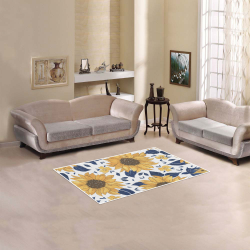 "Sunflowers Area Rug 2.7X1.8 Area Rug 2'7""x 1'8''"