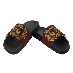VIP LCC BORDEAUX Men's Slide Sandals (Model 057)