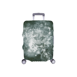 "White lion Luggage Cover/Small 18""-21"""