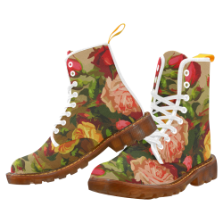 FLORAL DESIGN 10 Martin Boots For Women Model 1203H