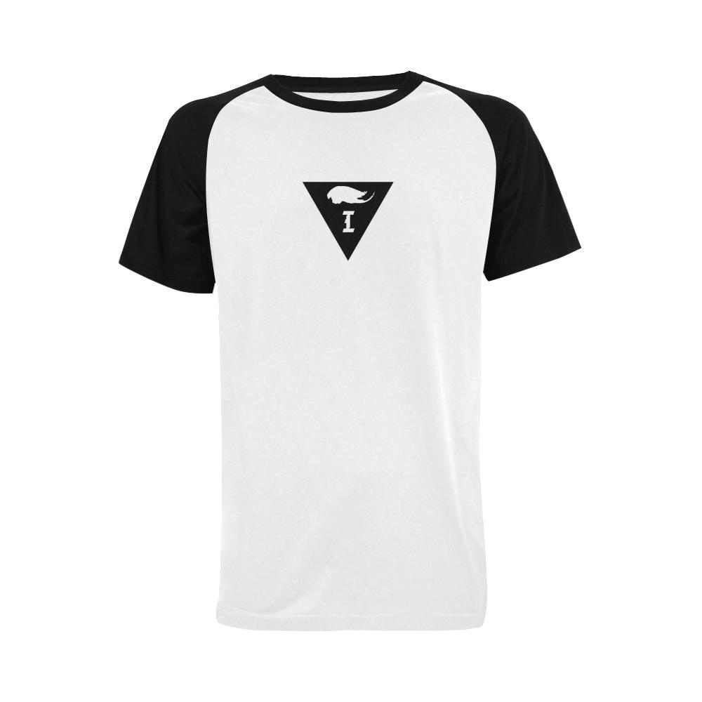 Intanjibles Men's Raglan T-shirt Big Size (USA Size) (Model T11)