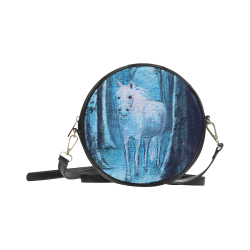 Midsummer Dream Horse Round Sling Bag (Model 1647)