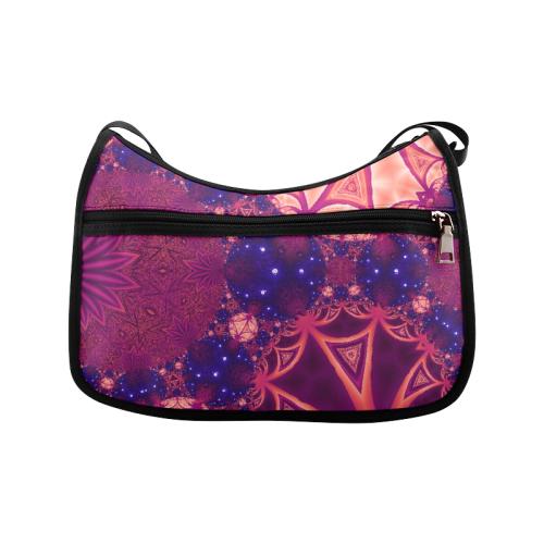 Moonlit Colourful Tropics Crossbody Bags (Model 1616)