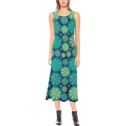 zappwaits flowers p7 Phaedra Sleeveless Open Fork Long Dress (Model D08)