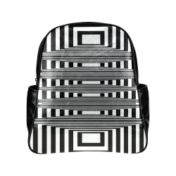 Can't make up my mind Multi-Pockets Backpack (Model 1636)