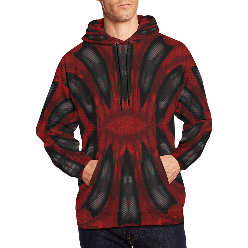 8000  EKPAH 26 low sml All Over Print Hoodie for Men/Large Size (USA Size) (Model H13)