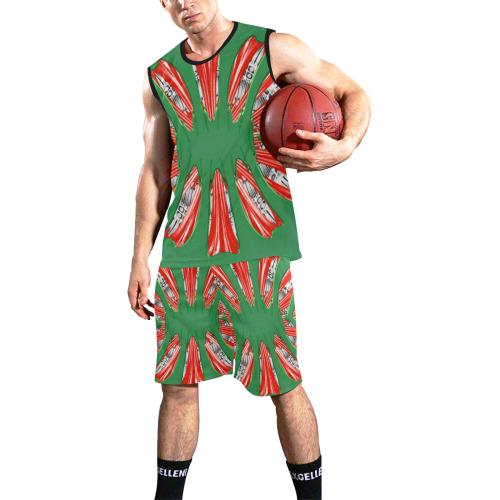 8000  EKPAH 9 All Over Print Basketball Uniform
