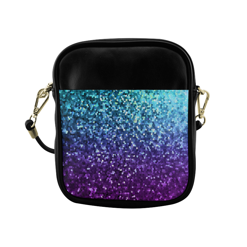 Mosaic Sparkley Texture G198 Sling Bag (Model 1627)