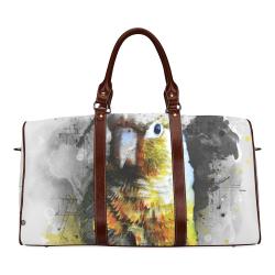 bird parrot art #parrot #bird Waterproof Travel Bag/Small (Model 1639)