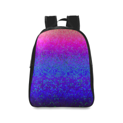 Glitter Star Dust G248 School Backpack/Large (Model 1601)