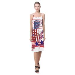 4th of July Alcestis Slip Dress (Model D05)