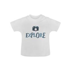 Explore 'Camera' Baby Classic T-Shirt (Model T30)