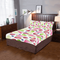 Fruits 3-Piece Bedding Set